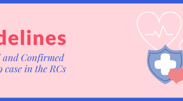 Guidelines for Suspected and Confirmed COVID-19 case in the RCs